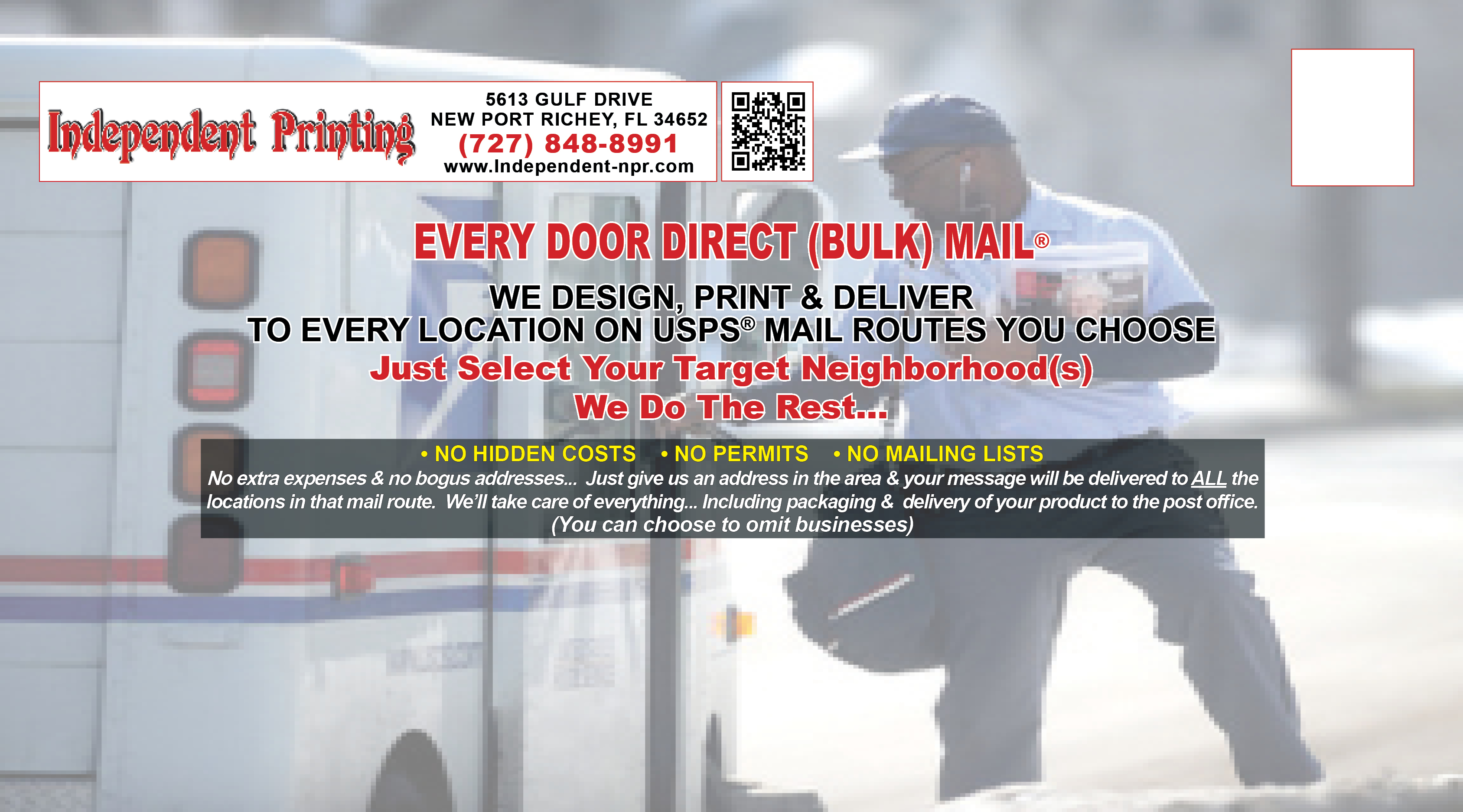 usps every door direct mail template - every door direct mail usps eddm independent printing