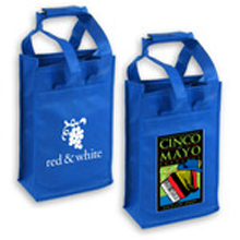 Promotional Wine Carrier Totes