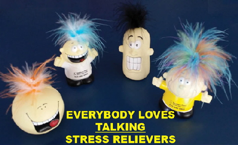 TALKING STRESS RELIEVERS